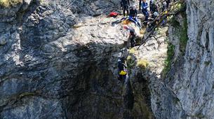 Canyoning-Garmisch-Partenkirchen-Canyoning at Stuibenfälle Gorge near Reutte-2