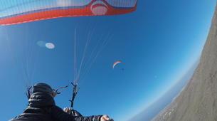 Paragliding-Costa Adeje, Tenerife-Standard paragliding tandem flight over Adeje-2