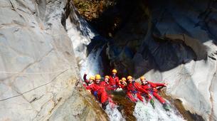 Canyoning-Cirque de Salazie, Hell-Bourg-Canyon Trou Blanc à Salazie, île de la Réunion-2