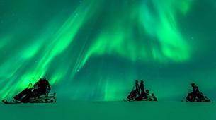 Snowmobiling-Rovaniemi-Northern Lights Snowmobile Safari in Rovaniemi-9