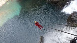Canyoning-Rivière Langevin, Saint-Joseph-Canyon du Grain Galet, Rivière Langevin à La Réunion-4
