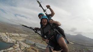 Paragliding-Costa Adeje, Tenerife-Standard paragliding tandem flight over Adeje-7