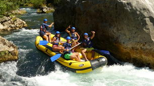 Rafting-Omis-Rafting on the Cetina River near Omis-1