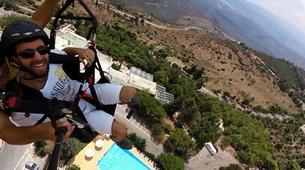 Paragliding-Arachova-Tandem paragliding flight in Arachova, Greece-6