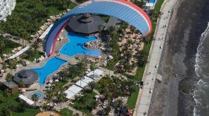 Parapente-Costa Adeje, Tenerife-High performance tandem paragliding flight over Adeje-6