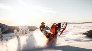 Snowmobiling-Rovaniemi-Snowmobile Session in Lapland-1