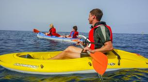 Sea Kayaking-Los Cristianos, Tenerife-Kayaking and snorkeling with turtles in Los Cristianos, Tenerife-3