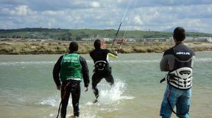 Kitesurfing-Tarifa-Group kitesurfing lessons in Playa de los Lances, Tarifa-2