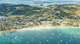 Helicopter tours-Auckland-Scenic Helicopter flight from Auckland to Waiheke Island-1