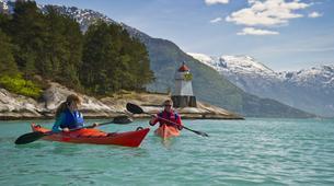 Kayak de mer-Jondal-Fjord sea kayaking in Jondal-1