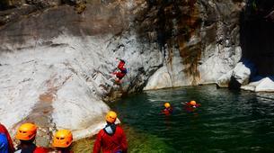 Canyoning-Cirque de Salazie, Hell-Bourg-Canyon Trou Blanc à Salazie, île de la Réunion-3