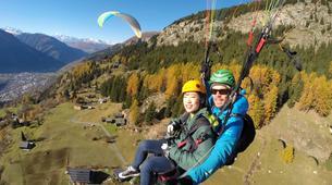 Paragliding-Brig-Glis-Summer Tandem Paragliding in Brig-Glis-6