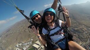 Paragliding-Costa Adeje, Tenerife-Standard paragliding tandem flight over Adeje-6