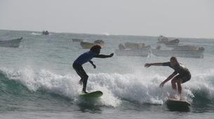 Surfing-Sal-Beginner's Surfing lessons in Santa Maria, Cape Verde-2