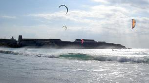 Kitesurfing-Tarifa-Group kitesurfing lessons in Playa de los Lances, Tarifa-5