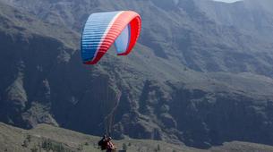 Parapente-Costa Adeje, Tenerife-High performance tandem paragliding flight over Adeje-3
