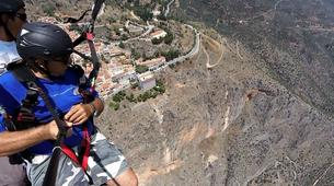 Paragliding-Delphi-Tandem paragliding flight in Delphi, Greece-2