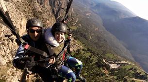 Paragliding-Arachova-Tandem paragliding flight in Arachova, Greece-5