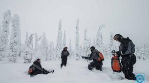 Raquette à Neige-Rovaniemi-Lapland wilderness snowshoe excursion from Rovaniemi-1