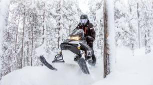 Snowmobiling-Rovaniemi-Snowmobile Session in Lapland-4
