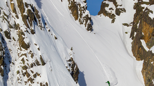 Estilo libre en snowboard-Val d'Aran-Snowboard freeriding in Baqueira- Beret-3
