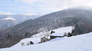 Raquette à Neige-Ariege-Randonnée en Raquettes près de Foix, Ariège-2