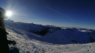 Ski touring-Flaine, Le Grand Massif-Ski touring excursion in Flaine, Grand Massif-11