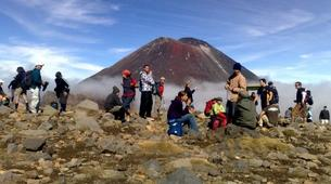 Glacier hiking-Taupo-Tongariro Crossing equipment rental and shuttle-1
