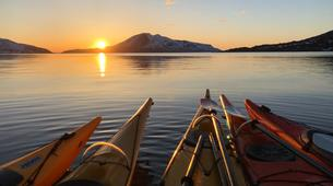 Kayak de mer-Tromsø-Summer Kayaking with Arctic Camp, near Tromsø-3