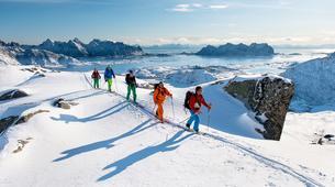 Ski de Randonnée-Tromsø-Ski & Sail Tour on the Arctic Haute Route-1