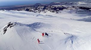 Snowmobiling-Vik i Myrdal-Snowmobile Tour up Mýrdalsjökull Glacier-2