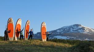 Stand up Paddle-Åre-Learn to SUP on Lake Åresjön in Åre-4