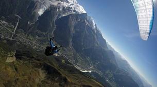 Parapente-Chamonix Mont-Blanc-Baptême de Parapente au Mont Blanc, Chamonix-4