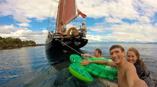 Sailing-Taupo-Cruise to Mine Bay on Lake Taupo-3