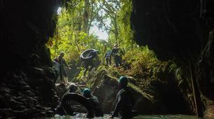 Rafting-Waitomo-'Black Labyrinth' Black Water Rafting in the Waitomo Caves-3