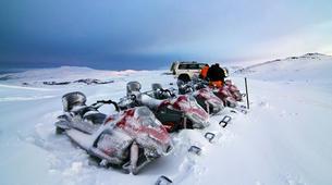 Snowmobiling-Vik i Myrdal-Snowmobile Tour up Mýrdalsjökull Glacier-3