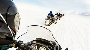 Snowmobiling-Svalbard-Pyramiden & Glacier Snowmobile Excursion in Svalbard-3