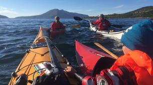 Kayak de mer-Tromsø-Summer Kayaking with Arctic Camp, near Tromsø-1