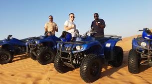 Quad biking-Dubai-Sunrise Dune Buggy Excursion in the Red Desert-3