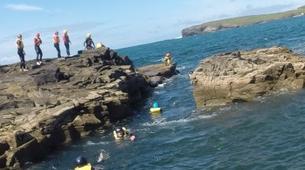 Coasteering-County Clare-Coasteering in Kilkee Bay-1
