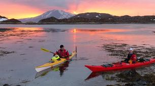 Kayak de mer-Tromsø-Winter Kayaking with Arctic Camp, near Tromsø-4