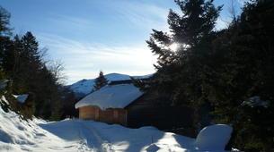 Raquette à Neige-Ariege-Randonnée en Raquettes près de Foix, Ariège-6