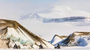 Snowmobiling-Svalbard-Pyramiden & Glacier Snowmobile Excursion in Svalbard-4
