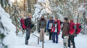 Raquette à Neige-Stockholm-Snowshoe hike in Stockholm-3
