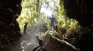 Rafting-Waitomo-'Black Labyrinth' Black Water Rafting in the Waitomo Caves-1