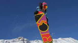 Backcountry snowboarding-Risoul, La Forêt Blanche-Freeride and freestyle snowboard sessions in Risoul-3