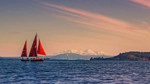 Sailing-Taupo-Cruise to Mine Bay on Lake Taupo-4