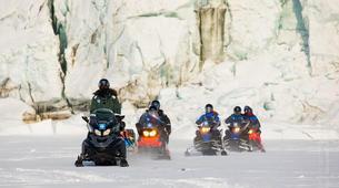 Snowmobiling-Svalbard-Pyramiden & Glacier Snowmobile Excursion in Svalbard-2