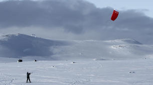 Snowkite-Hardangervidda National Park-Beginner Snowkiting Courses in Hardangervidda National Park-3