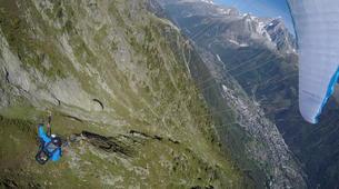 Parapente-Chamonix Mont-Blanc-Baptême de Parapente au Mont Blanc, Chamonix-2